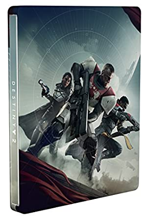 Destiny 2 Amazon Steelbook Exclusive (No Game Included)