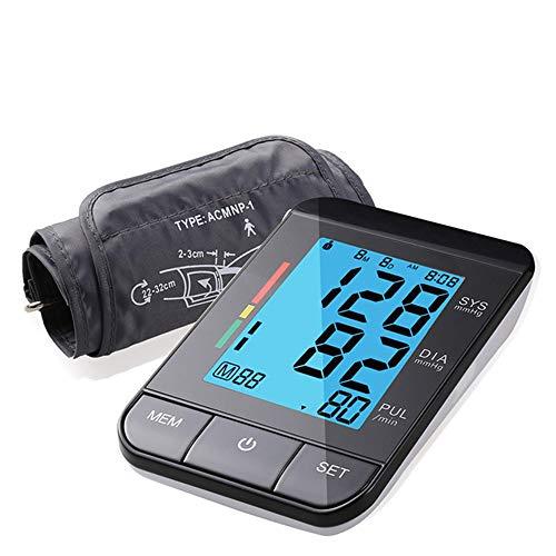 Ambulante Blutdrucküberwachung Oberarm Digital Portable Blutdruckmessgerät Schwarz Sphygmomanometer Beste Qualität