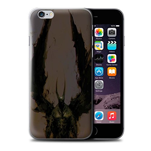 Offiziell Chris Cold Hülle / Case für Apple iPhone 6 / Teufel/Tier Muster / Wilden Kreaturen Kollektion Teufel/Tier