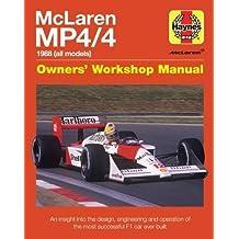 McLaren Mp4/4 Owners' Workshop Manual (Haynes Owners' Workshop Manual)