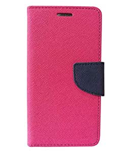 Mercury Fancy Diary Wallet Flip Cover For Micromax Canvas A1