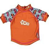 Close Parent 25881 - Camiseta de baño con protección UV, diseño Caravana, talla M (12-18 meses), color azul