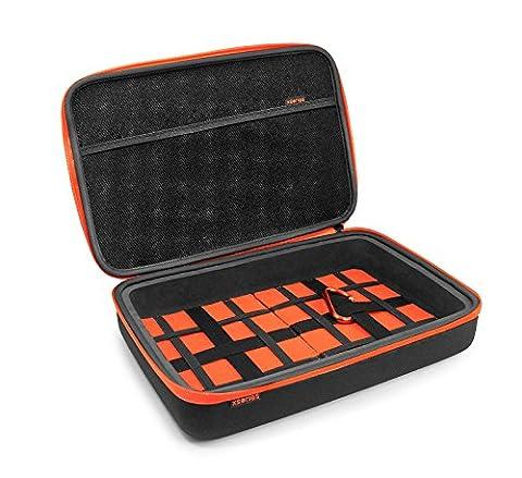 Xsories Universal Capxule Large - Mallette rangement robuste pour appareils électroniques GoPro Noir - Taille L