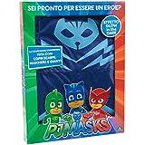 Giochi Preziosi - Super Pigiamini PJ Masks Costume Carnevale Gattoboy, Taglia 4/5 anni
