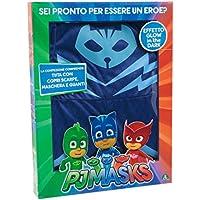 Giochi Preziosi Super Pigiamini PJ Masks Costume Carnevale Gattoboy, Taglia 3/4 Anni per Bambini, PJA00100