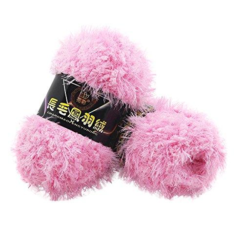 sunnymi 50g 3mm DIY Wolle Super Soft Baby Bambus Cotton Wool Häkeln Hand Stricken Kaschmir Garn Milch Baumwolle Geschenk Garn Strick Wolle Pullover Hüte Schals Decke (D, 3mm) -