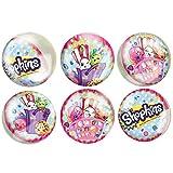 Best Juguetes y niño Bouncy Balls - Unique Party Shopkins Bouncy Ball bolsa bolsas de Review
