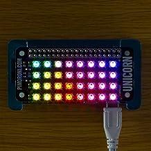 Unicorn pHAT. Compatible con: Raspberry Pi 3, 2, B+, A+, and Zero.