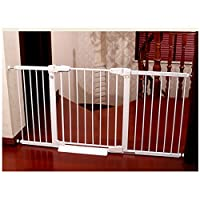 Baby Gate Fireplace Fence Pet Baby Safety Gate For Stairs Doorways Garden With Door Folding Mobile Child Isolation Guardrail Bedroom Free Punching