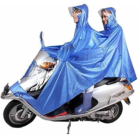 Película De La Perla De La Moda Para Aumentar Doblan Poncho De Grosor Motocicleta De Motocicleta Raincoat Yupi