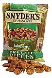 Snyder's Pezzetti di Brezel al Jalapeno, Pane, Alimentari, Confezione da 125g
