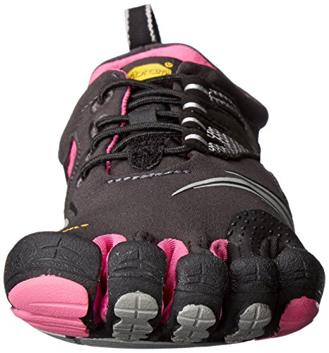 Vibram Fivefingers Kmd Sport Ls, Damen Hallenschuhe Mehrfarbig (Grey/black/pink)