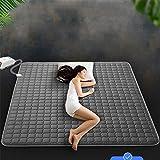 YUN Electric Blanket@ Sanitär Decke Doppel Wasserzirkulation elektrische Decke sichere Nicht-Strahlung Haushalt Elektro-Pinzetten leise Latex-Matratze-(180 * 90cm)