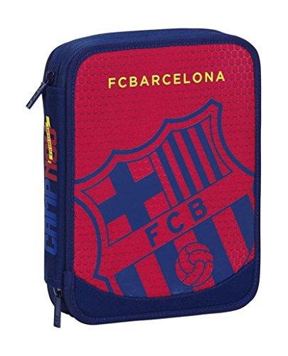F.C Barcelona – Plumier Doble, Color Azul/Granito (SAFTA 411572056)