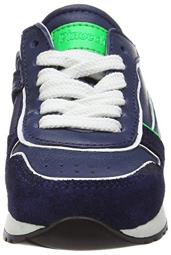 Pinocchio P1845/162/0000 Jungen Low-Top Blau (46CO / 65FL)
