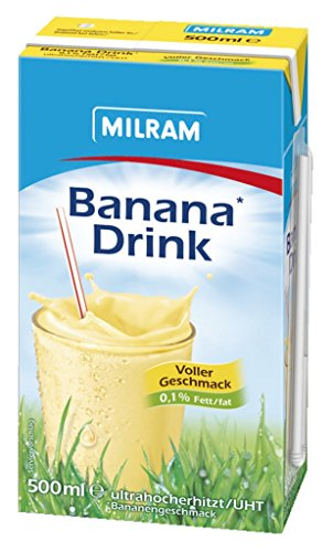 Milram – Banana-Drink – 500 ml