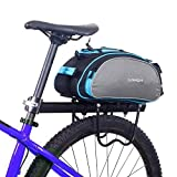 Best Rear Bike Rack - Blue: Lixada Bicycle Rear Seat Bag Multifunctional Bike Review