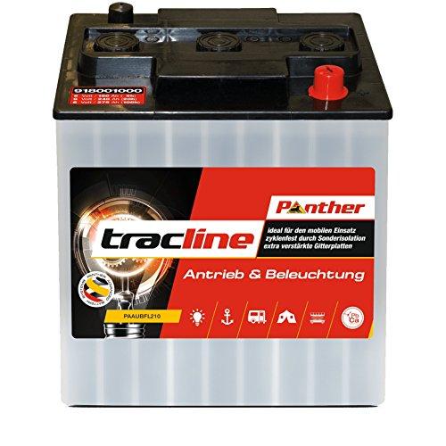 Panther tracline 6V 240AH 91801 Reinigungsmaschine Hebebühne Batterie