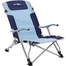 brunner silla de playa camping plegable modelo bula xl