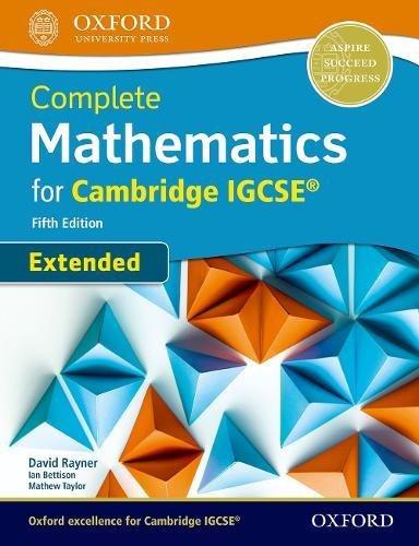 Complete mathematics extended for Cambridge IGCSE. Student's book. Per le Scuole superiori. Con espansione online