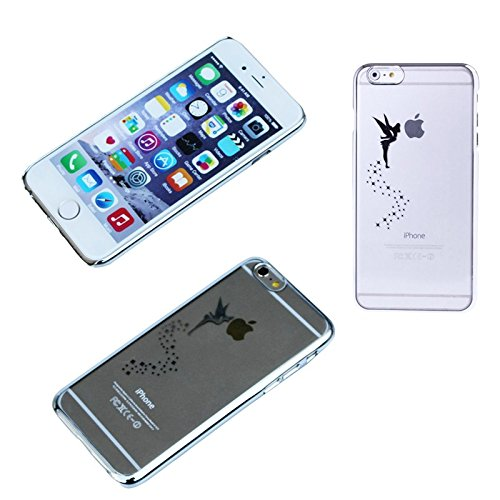 Schutz Hülle für Apple iPhone 6s Tasche Schutzhülle Hard Case Bumper Cover Bag, Farben:Schwarz Silber