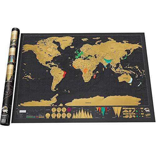 Shuzhen,Rasguño Mapa Mundo Cartel Diario Registro