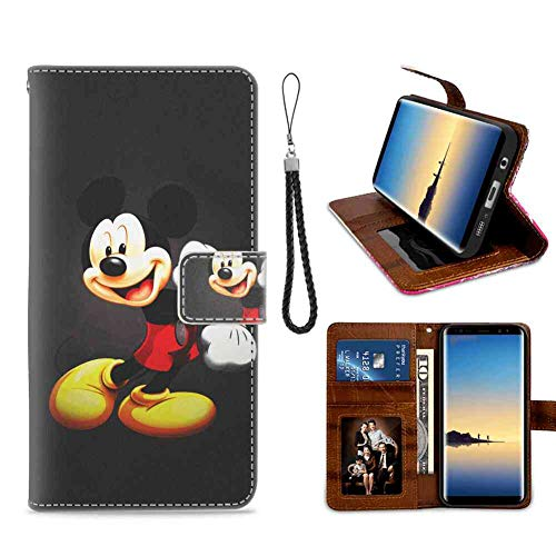 Coque Galaxy Note 8 (2017) Mickey Mouse Kids Cartoon Disney Pretty