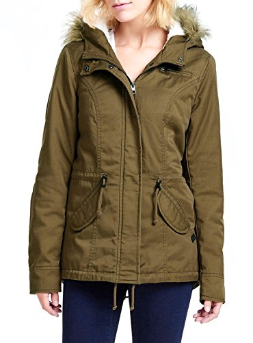 Parka Only Lorca Toast M Beige