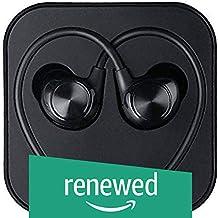 (Renewed) LeEco LeTv -LeUIH101 Wired Headphone (Black, in The Ear)