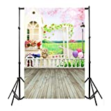 fotografía accesorios Sannysis fotografía de producto bebe fotografía accesorios prop fotografía estudio Telón de fondo de madera del piso de la pared del vinilo Fondo de fotografía (Background G)