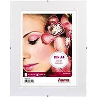 Hama Rahmenloser Bilderrahmen (Clip Fix, Anti-Reflex-Glas, DIN A4, 21 x 29,7 cm)