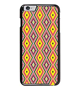 PrintDhaba Pattern D-5224 Back Case Cover for APPLE IPHONE 6 (Multi-Coloured)