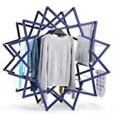 Best Drying Rack For Laundries - Rackaphile Expandable Outdoor Clothes Airer Multifunctional Star-Shaped Laundry Review