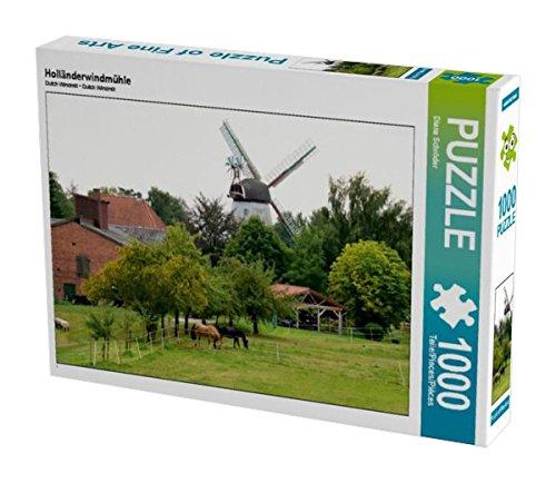 Preisvergleich Produktbild Holländerwindmühle 1000 Teile Puzzle quer (CALVENDO Orte)