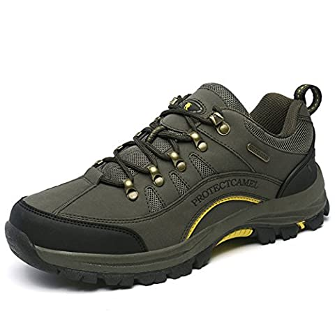 Herren Damen Trekking Wanderschuhe Wasserdicht Gleitsicher Sports Outdoor Schuhe