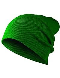 Long Beanie Slouch Mütze 15 Farben Bommelmütze Strickmütze Häckelmütze Wintermütze Herren Damen Skimütze