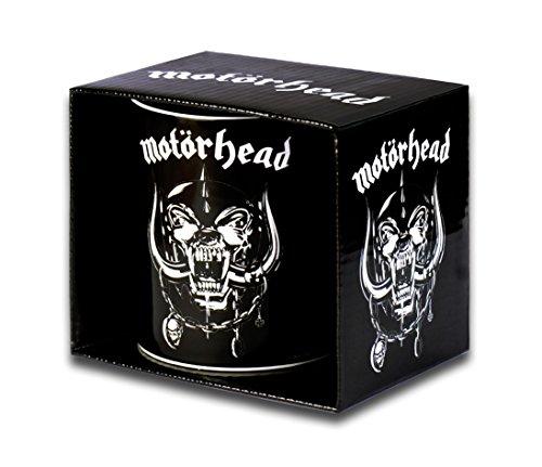 Motörhead Tazza da caffè - Motörhead Tazza in ceramica - Stampa a colori - design originale concesso su licenza - LOGOSHIRT