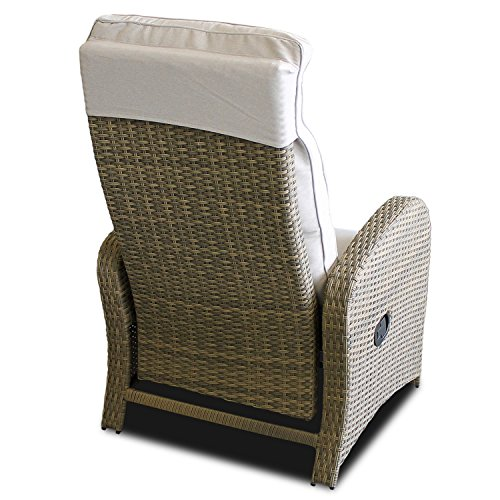 Poly Rattan Relaxsessel - 4