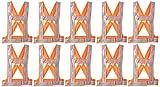 #10: Aktion Safety Jacket AK 603, Pack of 10