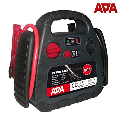 12-volt-power-pack (APA Power Pack 12V 400A 18bar mobile Starthilfe Ladegerät Kompressor Powerpack)