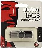 Kingston DataTraveler 101 G2 16 GB USB 2.0 Flash Drive - Black