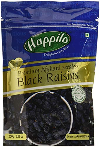 10. Happilo Premium Afghani Seedless Black Raisins