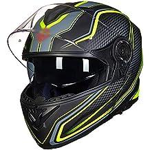 0128505dfadae SJZC Casco Moto Cascos Jet De Mujer Ascos Motos Scooter Visera