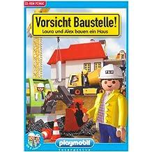 PLAYMOBIL - Vorsicht Baustelle! Für Windows Vista/XP/ME/2000/98 und Mac: Laura und Alex bauen ein Haus