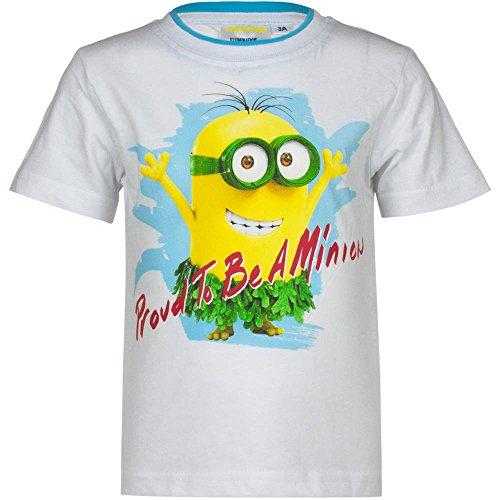 MINIONS - Camiseta de manga corta - Camiseta - para niño weiß - 1018
