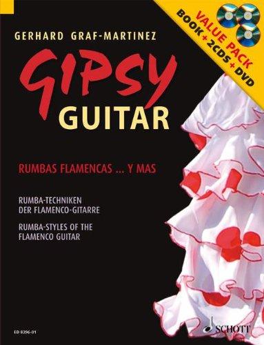 SCHOTT GRAF-MARTINEZ GERHARD - GIPSY GUITAR + CD +...