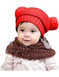 LANSKIRT  Vetement D enfant Chapeau bébé, 2018 Mode vêtements d hiver Enfant  Bébé Garçon Filles Bonnet tricoté… 86bbefadda9