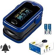 Smart Saver Big time Enterprises Digital Premium Fingertip Pulse Oximeter with Alarm, Beep and Plethysmograph