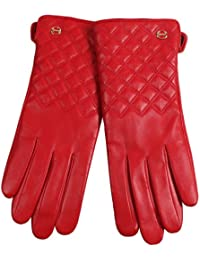 ELMA Nappa Leder Handschuhe Futter Thinsulate + Fleece Winter Winterhandschuhe
