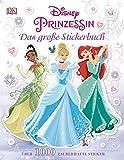 Disney Prinzessin. Das große Stickerbuch: Über 1.000 zauberhafte Sticker